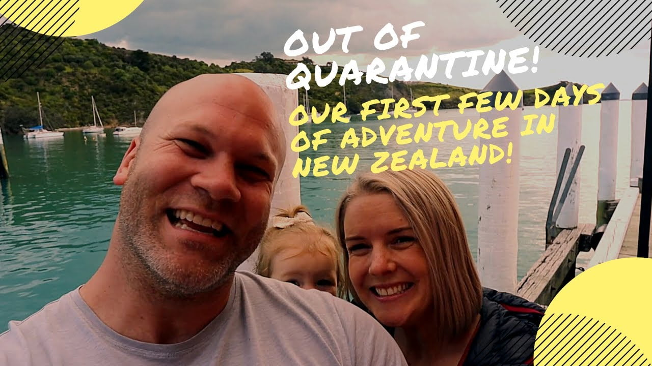 Out of New Zealand Covid Camp!