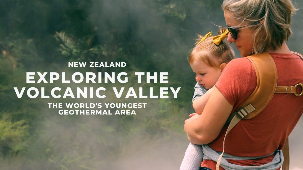 Exploring the Volcanic Valley in New Zealand